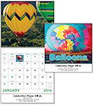 Balloons Spiral Wall Calendars